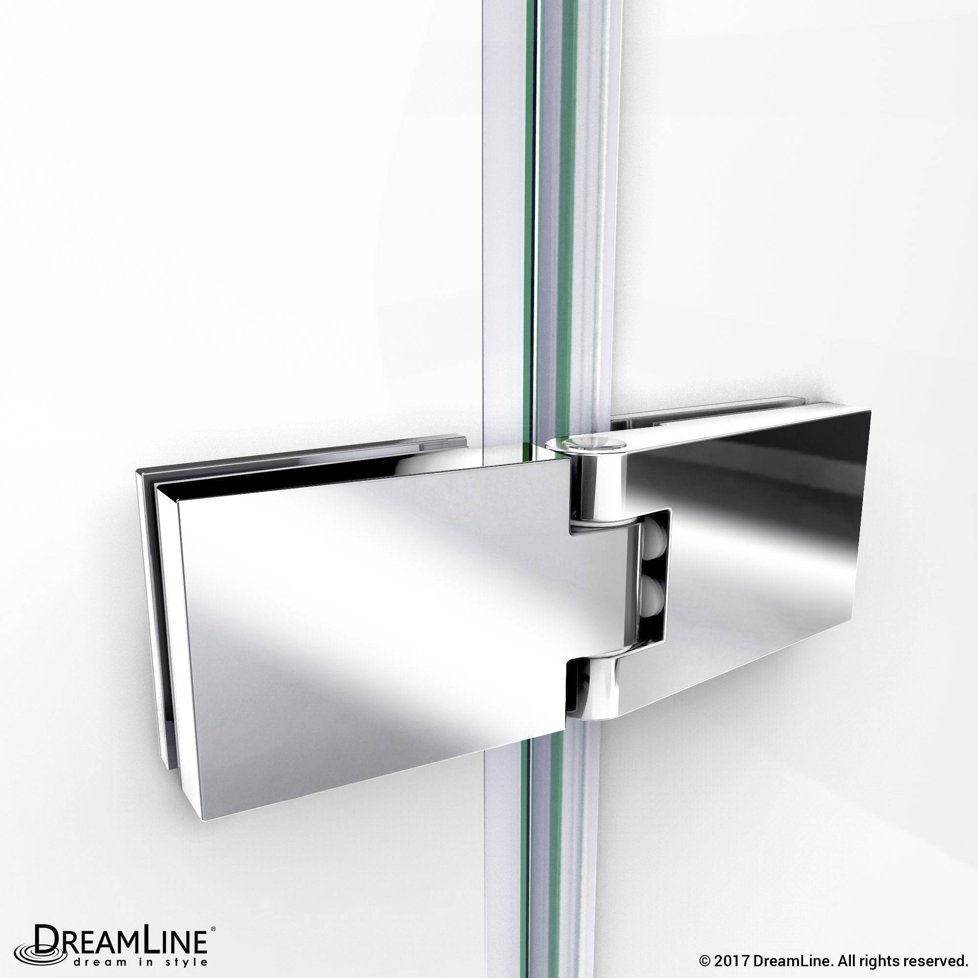 DreamLine Chrome Shower Door Hinge