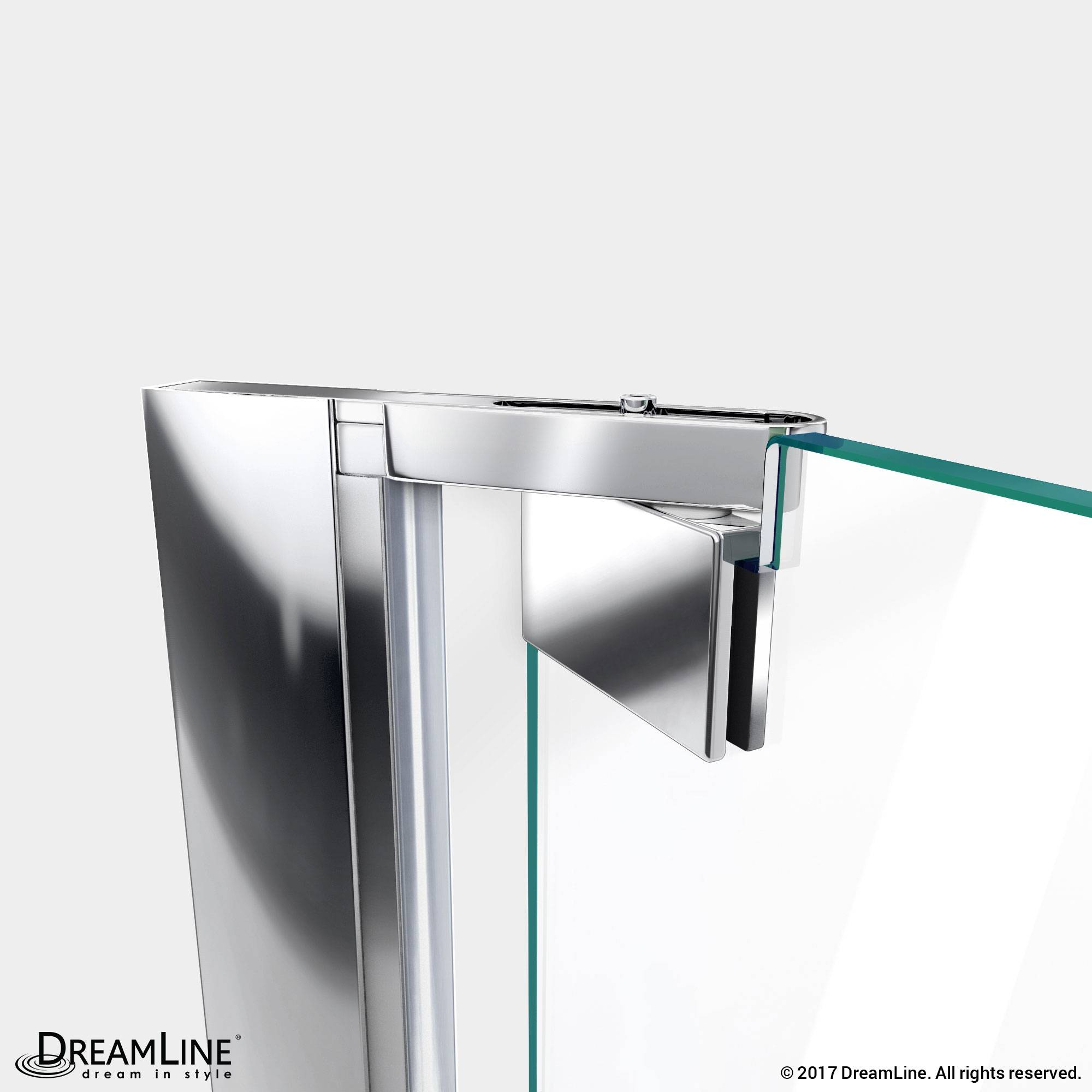 DreamLine Shower Door Pivot in Chrome Finish
