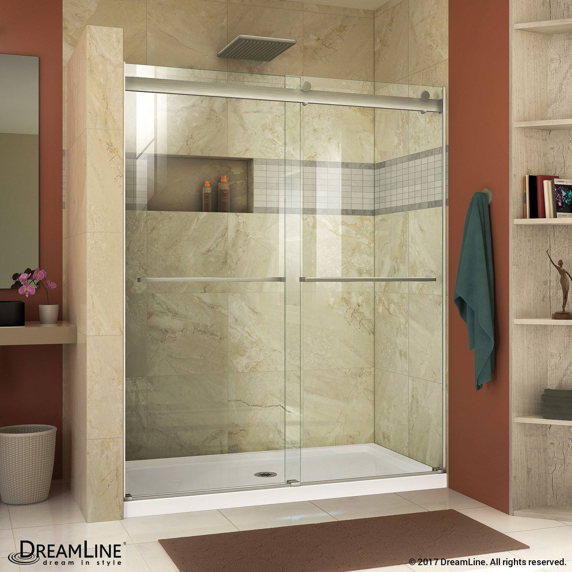 DreamLine Essence Bypass Sliding Shower Door