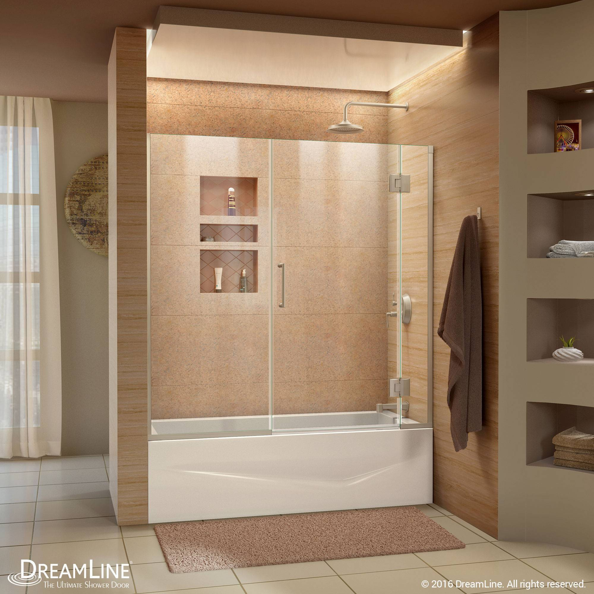 DreamLine Unidoor-X Hinged Tub Door